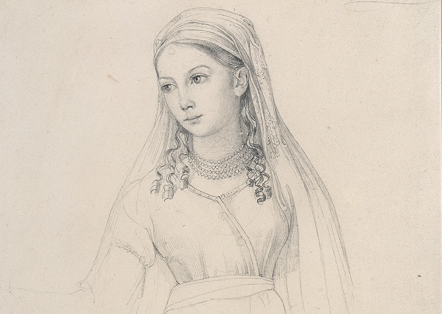 Portrait of princess Luise of Prussia